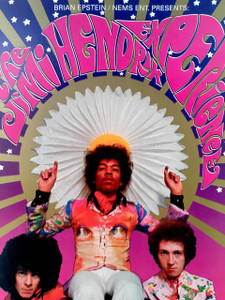 Jimi Hendrix Poster Saville Theater 1966 K Ferris UNCUT PROOF Signed Bob Masse