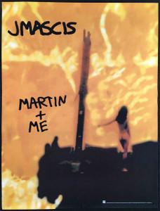 J Mascis Martin + Me Promo Poster Reprise Records 1995 Original Dinosaur Jr.