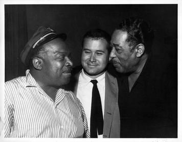 Count Basie Bob Theile Duke Ellington Original B&W 8x10 glossy photo NM