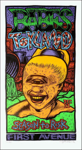 Babes in Toyland Poster Minneapolis 1995 S/N Silkscreen Signed John Howard