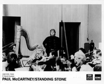 "Paul McCartney Original EMI Classics 8x10 Press Photo for ""Standing Stone"" 1997"