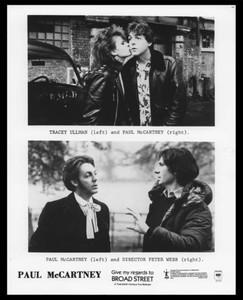 Paul McCartney 8x10 Press Photo Give My Regards to Broad Street Tracey Ullman
