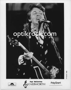 Paul McCartney Original Capitol Records Press Photo Knebworth: The Album 1990