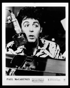 Paul McCartney Original 8x10 Press Photo Give My regards to Broad Street 1984
