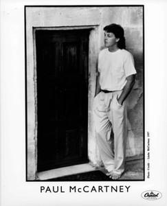 Paul McCartney Original 8x10 Capitol Records Press Photo 10 Pg Promo Flaming Pie