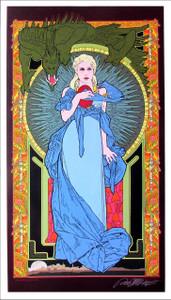 Mother of Dragons Poster Fine Art Giclee Print Signed Bob Masse Art Nouveau Mint