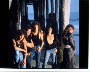 "Bon Jovi Glossy Color Photo Poster ""New Jersey"" 17"" x 22"" Jersey Shore Boardwalk"