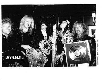 "AEROSMITH 1989 Press Kit for ""Aerosmithsonian"" Exhibit at Boston Hard Rock Cafe"