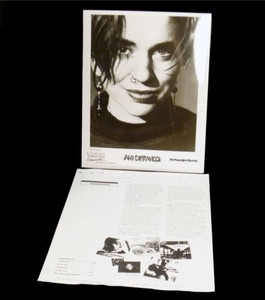 ANI DIFRANCO Original PRESS KIT w 8x10 Press Photo Like I Said 1993