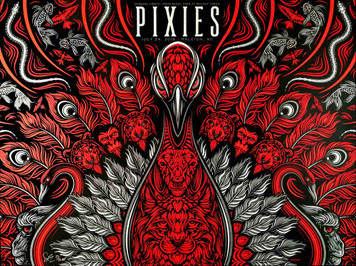 Pixies Poster Music Park Raleigh NC 2018 50 S/N Silkscreens Signed Todd Slater