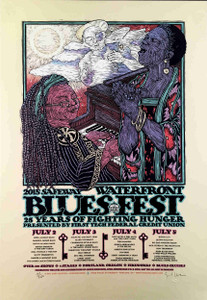 Waterfront Blues Fest Greg Allman Allen Toussaint Portland 2015 Gary Houston COA