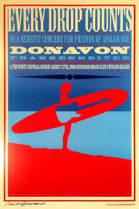 Donavon Frankenreiter Poster Catalina Island 2006 Signed John Van Hamersveld