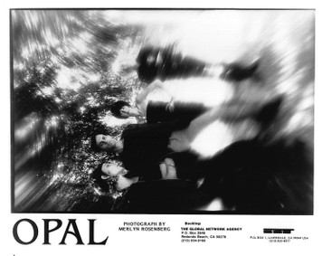 OPAL David Roback Kendra Smith 8x10 B&W PRESS PHOTO SST Records 1987 Mazzy Star