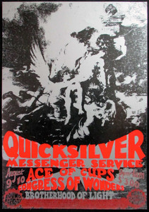 Quicksilver Messenger Service Original Poster Sound Factory Sacramento 1968