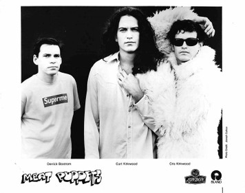 Meat Puppets 8x10 b&w Glossy Press Photo for NO JOKE! London Records 1995 MINT