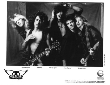 AEROSMITH Steven Tyler ORIGINAL Press Kit w Great Norman Seeff Photo PUMP 1989