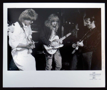AEROSMITH Vintage 8x10 Glossy Press Photo Brad Whitford on David Letterman '80s