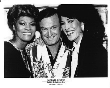 "Dionne Warwick with Rita Coolidge and Peter Allen 8""x10"" B&W Glossy Photo"
