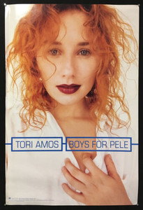 Tori Amos Boys for Pele Poster Atlantic Records 1996