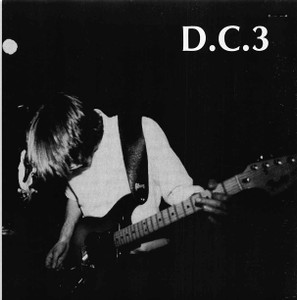 D.C.3 Press Kit 8X8 b&w Glossy Image (printed not photo) 6 Pgs SST Records Clips