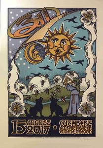 311 Original Concert Tour Poster Eugene OR 2017 Hand-Signed Gary Houston COA