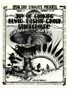 Joy of Cooking Handbill Elvin Bishop Stoneground Cal Expo '71 Flawless MINT