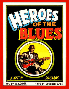 R. Crumb Heroes of the Blues Card Set