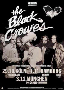 Black Crowes German Bus Side