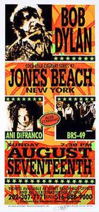 Bob Dylan Ani DiFranco Poster Original Signed Silkscreen Mark Arminski