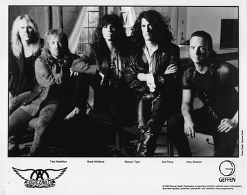 AEROSMITH ORIGINAL Press Kit w Norman Seeff 8 x 10 Glossy Photo GET A GRIP 1993