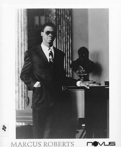 MARCUS ROBERTS Jazz Piano Original Vintage 8 x 10 Press Kit Photo MINT