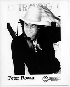 Peter Rowan Original Mint Vintage 8x10 B&W Glossy Still Press Photo