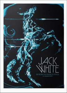 Jack White Fox Theater St. Louis 2014 w Benjamin Booker July 2014 Hand-Signed Todd Slater