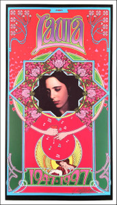 Laura Nyro in Memoriam Poster 1947-1997 Beautiful Print Hand-Signed by Bob Masse