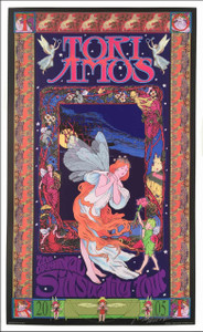 "Tori Amos Poster ""The Original Sinsuality Tour"" 2005 Signed Lithograph Bob Masse"
