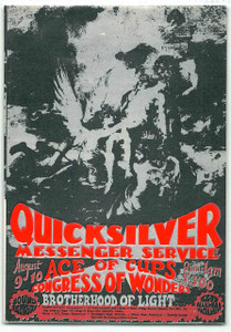 Quicksilver Messenger Service Original Handbill Sound Factory Sacramento 1968