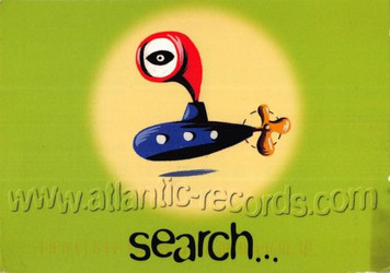 AtlanticRecords.com Debut Announcement Postcard w Tower Records 1997