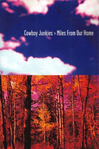 Cowboy Junkies 1998 Miles From Our Home Geffen Records Promo Postcard