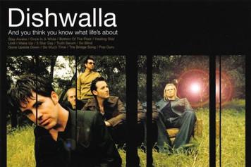 "Dishwalla Pet Your Friends Followup and 1998 Tour Announcement Postcard 4""x6"""