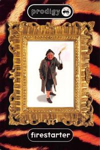 Prodigy Firestarter MTV Buzz Clip Promo Postcard #1 UK Band 1996 4x6