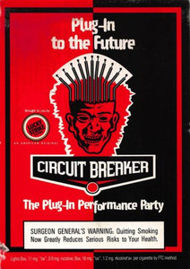 De La Soul Cicuit Breaker Performance Party Maritime Hall SF Postcard 1996
