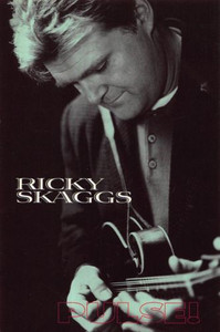 """Ricky Skaggs Life After Nashville Pulse! Magazine Feature Promo Postcard 4""""x6"""""""