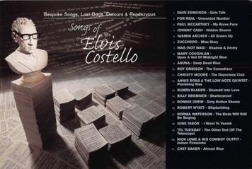 Songs of Elvis Costello McCartney Johnny Cash Chet Baker Promo Postcard 1998