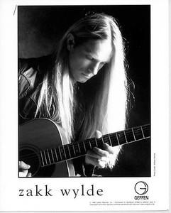 Zakk Wylde Original Vintage 1996 Geffen Records Press Kit w 8x10 Photo