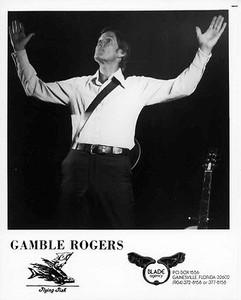 Gamble Rogers Original Vintage Flying Fish Records 8x10 Press Photo