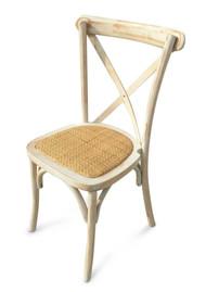 Limewash with Rattan Seat