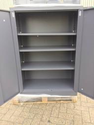 Metal Storage Utility Cabinet. Half Height