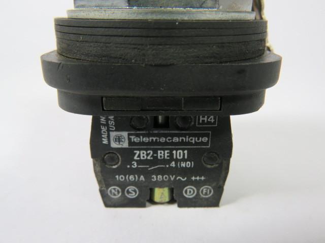 Telemecanique XB3BG03 Key Switch 3-Position 2NO w//520 Key