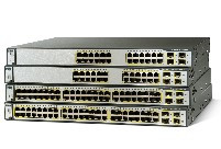 Cisco 3750 24TS Switch