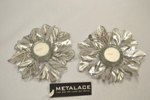 Metalace Tealight Candleholders